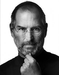 Albert Watson: Steve Jobs, Cupertino, California, 2006, by Photographer Albert Watson (b 1942), a Scottish photographer well known for his fashion, celebrity and art photography, and whose work is featured in galleries and museums worldwide. He has shot over 200 covers of Vogue and 40 covers of Rolling Stone magazine since the mid-1970s. Photo District News named Watson one of the 20 most influential photographers of all time, along with Richard Avedon and Irving Penn, among others.