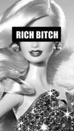 Ide: lav noget lignende men hvor the rich bitch er omgivet af natur/dyr/blomster i stedet for diamanter. Ideas Party Girl Aesthetic Rich For 2019 Cyberpunk Aesthetic, Boujee Aesthetic, Aesthetic Painting, Aesthetic Drawing, Bad Girl Aesthetic, Aesthetic Collage, Aesthetic Vintage, Aesthetic Photo, Aesthetic Pictures