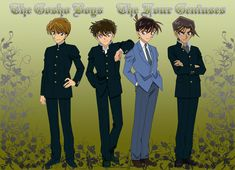 detective conan the gosho boys by ~princesshetalia on deviantART