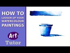 There's a tutorial for a soft-edged poppi flower (would be great for a card or art journal).   How to Loosen Up Your Watercolour Paintings - YouTube