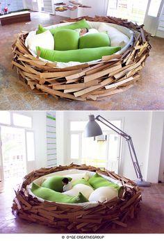 kids' nest. I need this for my sensory seeking kiddos!