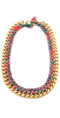 Aurelie Bidermann Do Brasil Necklace   $670.00