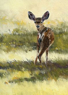 Newcomer by Joe Garcia Oil ~ 12 x 9