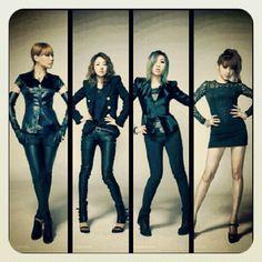 2NE1 X Koraju fashion spread. Brought to you by www.Koraju.tumblr.com and YG Entertainment