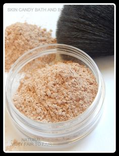 Mineral Makeup Natural Color Loose Powder by SkinCandyCosmetics