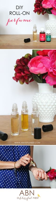 DIY Roll On Perfume by A Blissful Nest