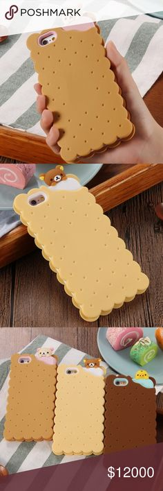 3D silicone cookie phone case  iPhone Trying to decide if I should order these to sell here on poshmark. If u would be interested in one of these comment or like this post. Thank you!! Urban Outfitters Accessories Phone Cases