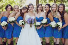 heart of light ♡ - Love these bridesmaids dresses!