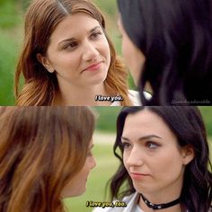 They fucking said it to each other finally! Carmilla And Laura, Carmilla Series, Elise Bauman, Bubbline, Lesbian Love, Girl Crushes, Couple Goals, I Movie, Lgbt