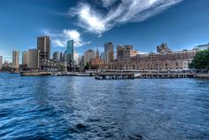 """""""Sydney Australia"""" - This photo was taken in front of the Hyatt at the Rocks looking back towards the city. A lazy Saturday afternoon……"""