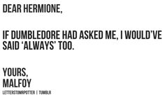 I love Draco and Hermione. What if they did end up together?