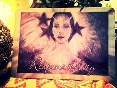 """Hello Divine Friends, how are you? Today the Angels selected the """"Responsibility"""" card for our reading: We must so what feels right for us, above all else. It is impossible to please all parties in the present situation. ~ My Kind Brothers & Sisters, we only have responsibility for our own life & actions. Others must take responsibility for theirs. Namaste with Faith! I am, Cindy. xox cindyshealing.com"""