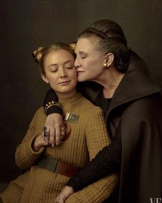 """226 Likes, 5 Comments - Laura du Pre (@authordupre) on Instagram: """"This picture is everything. #carriefisher #carrieon #thelastjedi #starwars"""""""