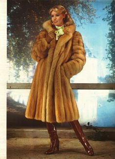 Retro Fur Coat I've always wanted one of these!!!
