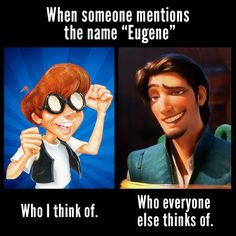 Credit: AdventuresinOdysseyGirl | Eugene Meltsner | Flynn Rider | Adventures in Odyssey memes