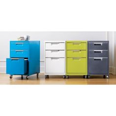 jaunty file cabinets - TPS file cabinet from CB2