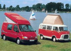 Ford Transit campers