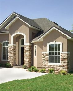 Stucco paint | Home | Pinterest | Stucco paint, House and Exterior ...