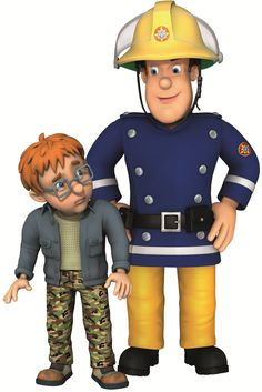 """Norman Price and """"Fireman Sam"""" the name for this lovely and important messages from a Welsh children's animated cartoon. <3"""