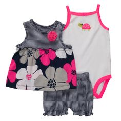 3-Piece Outfit Set   Baby Girl Sets