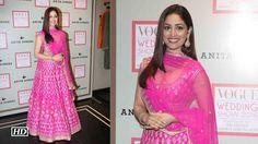 Yami Gautam turns into a Pretty Pink Bride for Anita Dongre , http://bostondesiconnection.com/video/yami_gautam_turns_into_a_pretty_pink_bride_for_anita_dongre/,  #AnitaDongre #VogueWeddingShow #YamiGautam #Yamiinpinklehenga #YamiturnsBrideforAnitaDongre