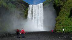 Skógafoss, Iceland. Iceland Custom Motorcycle Tour with MotoQuest 2012 https://www.motoquest.com/custom-tours