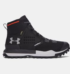Benefit from comfort, resilience, and lightweight, in a pair of Under Armour Newell Ridge Mid Gore-Tex Hiking Boots. Gore Tex Hiking Boots, Best Hiking Boots, Hiking Shoes, Top Shoes, Men's Shoes, Shoe Boots, Chaussures Under Armour, Hiking Fashion, Walking Boots