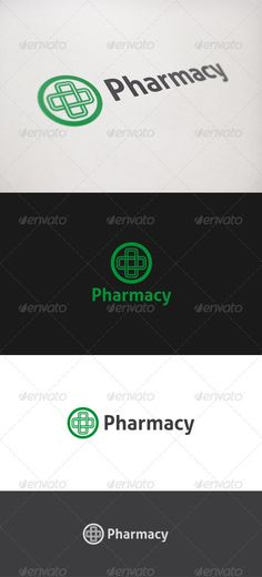 Pharmacy - Logo Design Template Vector #logotype Download it here: http://graphicriver.net/item/pharmacy-logo/821703?s_rank=958?ref=nexion