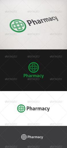 Pharmacy - Logo Design Template Vector #logotype Download it here: http://graphicriver.net/item/pharmacy-logo/821703?s_rank=958?ref=nexion