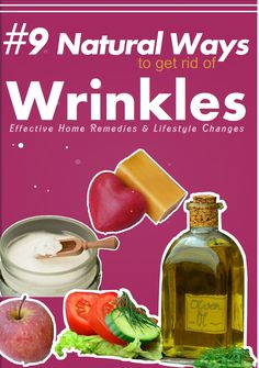 Effective Ways to Get Rid of Wrinkles Naturally: Reasons for wrinkles, Natural home remedies to reduce and prevent wrinkles. Simple lifestyle changes to remove forehead and under eye wrinkles effortlessly Under Eye Wrinkles, Face Cream For Wrinkles, Prevent Wrinkles, Wrinkles Forehead, Home Remedies For Wrinkles, Natural Home Remedies, How To Reduce Pimples, Wrinkle Remedies, Homemade Skin Care