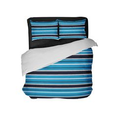 40acf5222 Carolina Team Colors Comforter Set. Preppy BeddingStriped ...