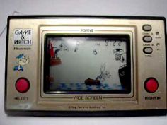 1981 Nintendo Game & Watch: Popeye. Loved this, too!
