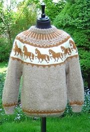 Islandwolle Alafoss Lopi - Wolle aus Island und Islandpullover Nordic Sweater, Icelandic Sweaters, Fair Isle Knitting, Knit Or Crochet, Mango, Pullover, Pattern, Clothes, Fashion
