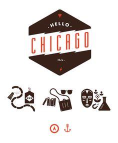 Creative Hl, Chi, Icons, and Illustration image ideas & inspiration on Designspiration Web Design, Logo Design, Graphic Design, Chicago Map, Poster Ads, Make Your Mark, Typography Design, Illustrators, Illustration Art