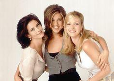 Phoebe, Rachel, & Monica #friends