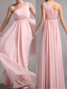 2017 Custom Made Elegant Bridesmaid Dress, Chiffon Bridesmaid