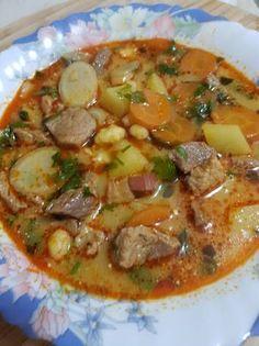 Paraszt gulyás Hungarian Cuisine, Hungarian Desserts, Hungarian Recipes, Hungarian Food, Mexican Food Recipes, Soup Recipes, Cooking Recipes, Eastern European Recipes, Kaja