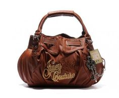 cheap - Cheap Juicy Couture Signature Queen With Silver Key Bags - Brown - Wholesale Discount Price    Discount Juicy Couture handbags Sale, Cheap Juicy Couture Handbags New Arrivals, Original Juicy Couture Purses outlet, Wholesale Juicy Couture bags store