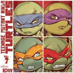 IDW TMNT by Santolouco.deviantart.com on @deviantART