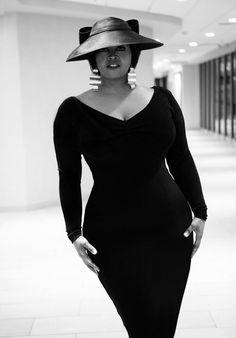 Plus size fashion for women..The little black plus size dress..curvy sexy plus size..#fashionphotography #plussize #blackdress Designer/Stylist Patricia Mcglawn Trendy curvy