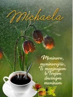 Michaela Meninovo, meninovejšie, Ti meninujem k Tvojim dnešným meninám September, Tableware, Dinnerware, Dishes, Place Settings