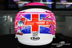 Button (Silverstone 2014) - back #PinkforPapa