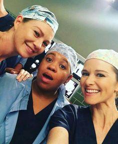 Ellen, Chandra and Sarah