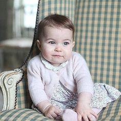 When Princess Charlotte Showed Off Her Big Blue Eyes     POPSUGAR Celebrity