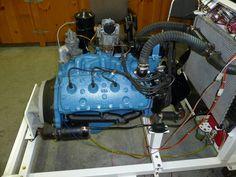 Engine Stand Project Garage Organization Tips, Garage Tool Storage, Motor Engine, Car Engine, Tire Steps, 454 Big Block, Engine Stand, Welding Shop, Ford V8