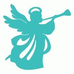 Silhouette Design Store - View Design #110515: angel trumpet