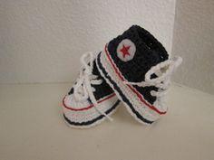 Crochet Baby Converse FREE pattern  #diycraft #crochetpattern #freepattern