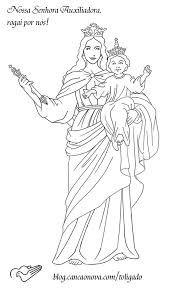 Resultado De Imagen Para Maria Auxiliadora Dibujo Con Imagenes