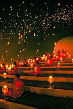 """""""YeePeng Festival ChiangMai Thailand"""" by chattakan kosol, via 500px. from http://500px.com/photo/19141639"""