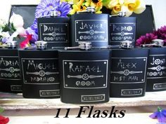Set of 1 Steampunk Groomsmen Wedding Flask, Groomsmen Gift, Matron of Honor Gift Flask, Bridal Party Cheap Gifts, Flasks with Engraving Best Friend Wedding Gifts, Wedding Thank You Gifts, Wedding Gifts For Bridesmaids, Be My Bridesmaid, Gifts For Wedding Party, Wedding Stuff, Wedding Ideas, Bridesmaid Proposal, Bride Gifts